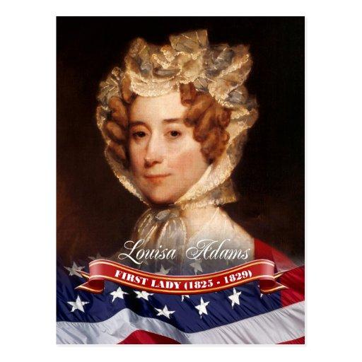 Louisa Adams, First Lady of the U.S. Postcard