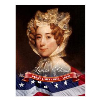 Louisa Adams, primera señora de los E.E.U.U. Tarjeta Postal