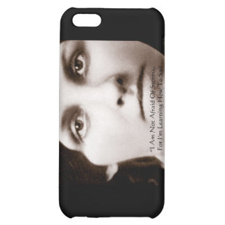 """Louisa May Alcott """"Learning To Sail"""" Wisdom Gifts Case For iPhone 5C"""
