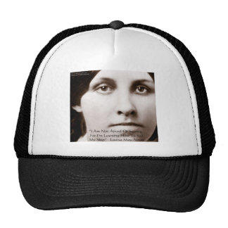 """Louisa May Alcott """"Learning To Sail"""" Wisdom Gifts Trucker Hat"""