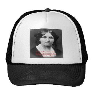 """Louisa May Alcott """"Little Kingdom"""" Wisdom Gifts Trucker Hat"""
