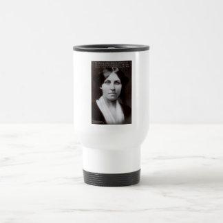 "Louisa May Alcott & ""Purpose/Dream"" Quote Gifts 15 Oz Stainless Steel Travel Mug"