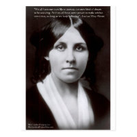 Louisa May Alcott Quote Gifts On Zazzle