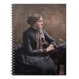 Louisa puede Alcott Libros De Apuntes Con Espiral