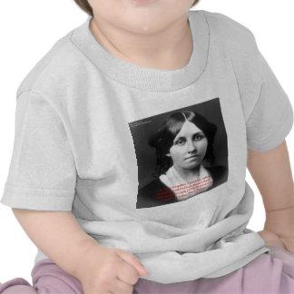 Louisa puede Alcott los regalos de la sabiduría de Camisetas