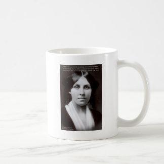 """Louisa puede Alcott y los regalos de la cita del """" Taza De Café"""