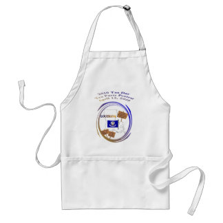Louisana Tax Day Tea Party Protest Adult Apron