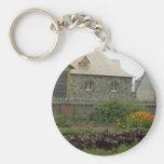 Louisbourg Fortress Garden Key Chain