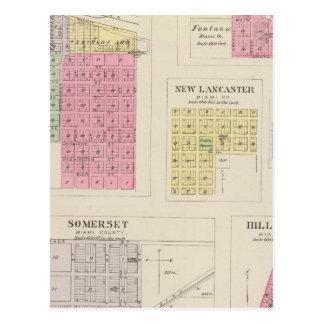 Louisburg, Somerset, Fontana, Kansas Tarjetas Postales