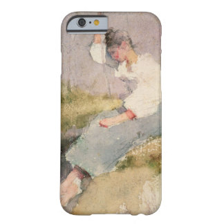 Louise, a Breton Girl (w/c on paper) Barely There iPhone 6 Case