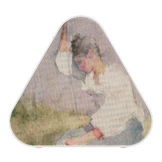 Louise, a Breton Girl (w/c on paper) Bluetooth Speaker
