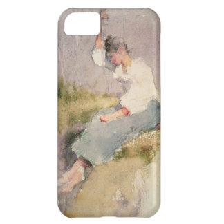 Louise, a Breton Girl (w/c on paper) iPhone 5C Cover