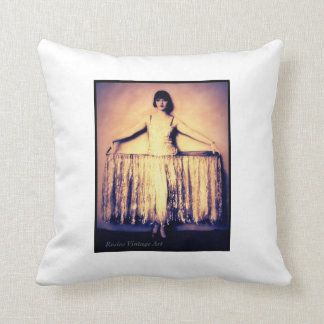 Louise Brooks in Panniers Pillow