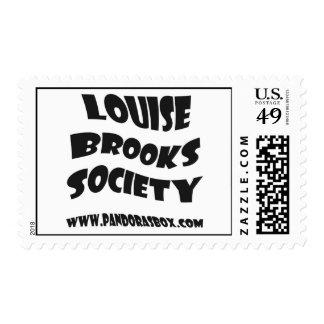 Louise Brooks Society postage stamp
