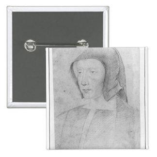 Louise de Savoie 2 Inch Square Button