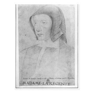 Louise de Savoie Postcard