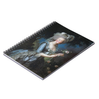 Louise Elisabeth -Queen Marie Antoinette of France Spiral Note Books