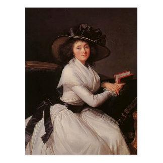 Louise Elisabeth Vigee Le Brun- Countess de Châtre Postal