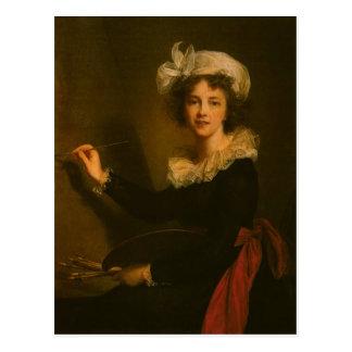 Louise Elisabeth Vigee Le Brun- Self-portrait Postal