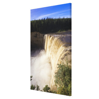 Louise Falls, Twin Falls Gorge Territorial Park, Canvas Print