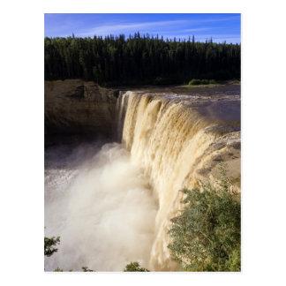 Louise Falls, Twin Falls Gorge Territorial Park, Postcard