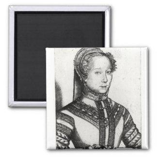 Louise Labe  La Belle Cordiere, 1555 Magnet