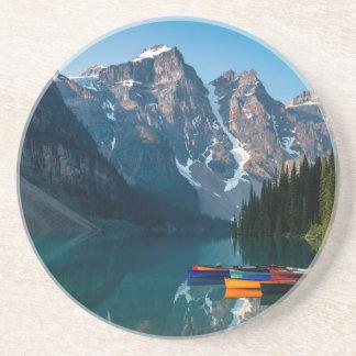 Louise lake in Banff national park Alberta, Canada Coaster