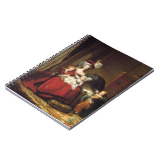 Louise Le Brun- Marie Antoinette and her Children Spiral Notebooks