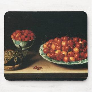 Louise Moillon Cherries Strawberries Gooseberries Mouse Pad