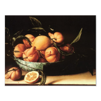 Louise Moillon's Bowl of Curacao Oranges (1634) Card