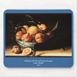 Louise Moillon's Bowl of Curacao Oranges (1634) Mouse Pad