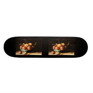 Louise Moillon's Bowl of Curacao Oranges (1634) Skateboard