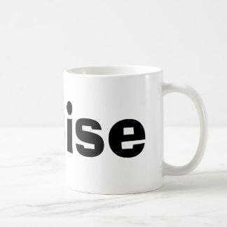 Louise Classic White Coffee Mug