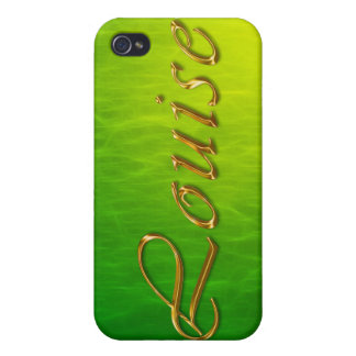 LOUISE Name Branded iPhone Cover