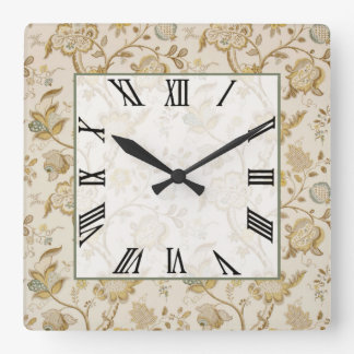 Louise Square Wall Clock