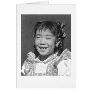 Louise Tami Nakamura 1943 Card