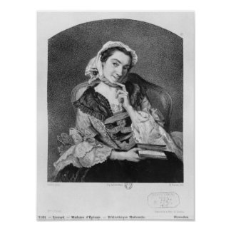 Louise Tardieu d'Esclavelles Poster