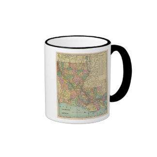 Louisiana 10 coffee mugs
