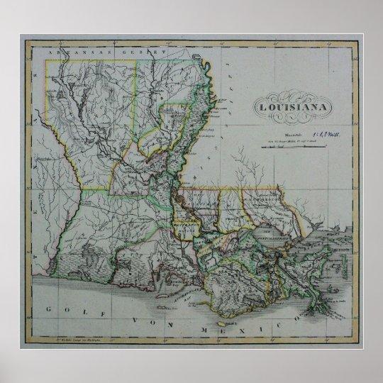 Louisiana: 1824 poster