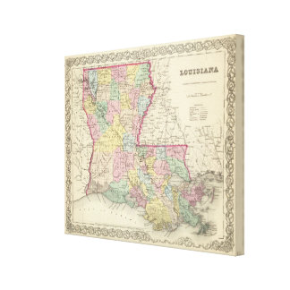 Louisiana 3 canvas print