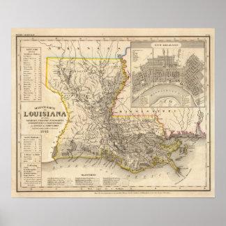 Louisiana 4 poster