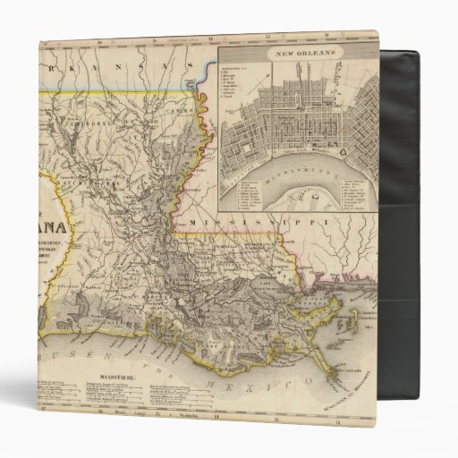 Louisiana 5 binders