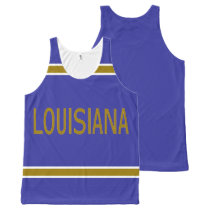 Louisiana All-Over Printed Unisex Tank