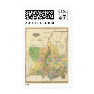 Louisiana and Mississippi 2 Postage