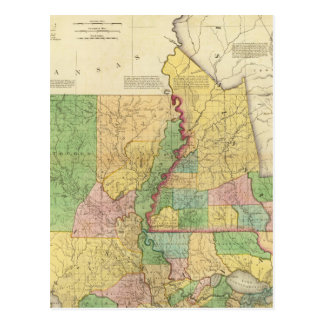 Louisiana and Mississippi 2 Postcard