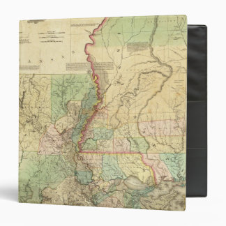 Louisiana and Mississippi 3 Ring Binder