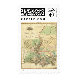 Louisiana and Mississippi Postage