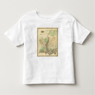 Louisiana and Mississippi Toddler T-shirt