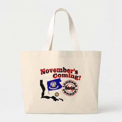 Louisiana Anti ObamaCare – November's Coming! Bag