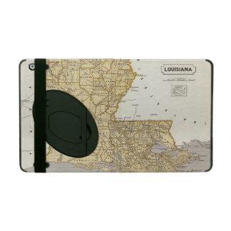 Louisiana Atlas Map iPad Case